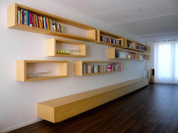 boekenkast bamboe